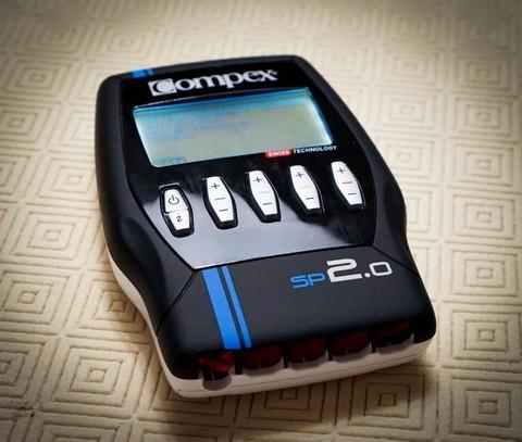 Тестирование электростимулятора Compex SP 2.0