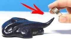 С лизунами и слаймами можно играть при помощи магнитов