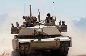 Необычный танк Abrams замечен в Румынии
