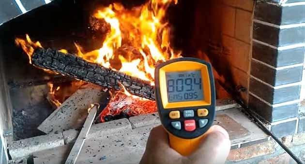 Какая температура горения дров в печи – породы дерева, какие дрова лучше выбрать ?