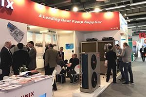 Китайская компания PHNIX рекламирует тепловой насос R32-EVI