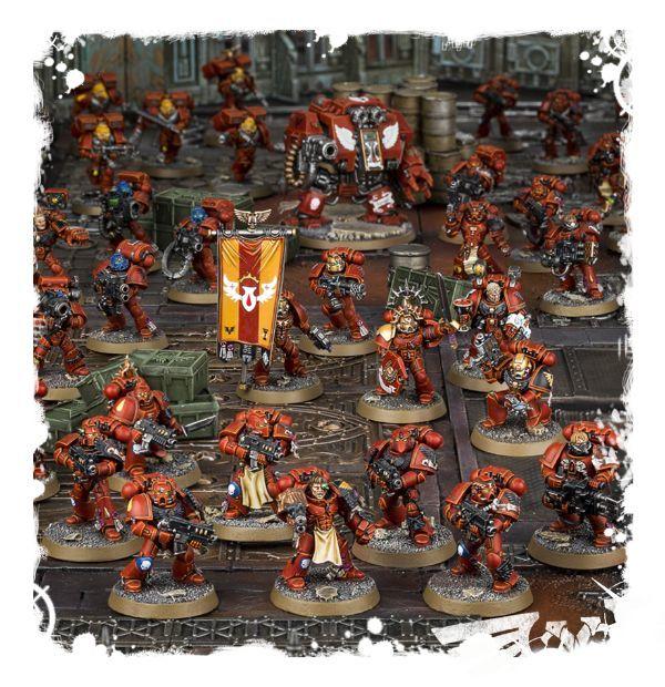 Новые наборы Кровавых Ангелов доступны для предварительного заказа!