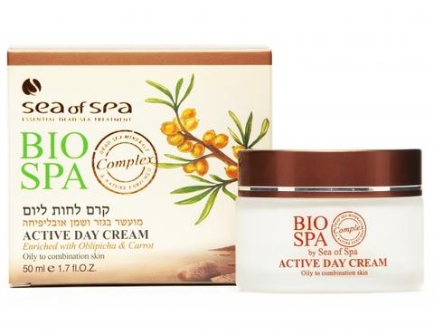 Обзор Активного увлажняющего дневного крема для лица (для жирной и комбинированной кожи) Sea of SPA линия Bio SPA, 50мл