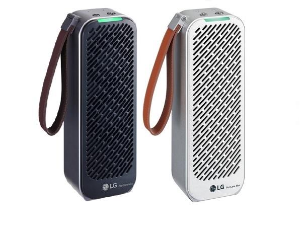 LG Electronics рекламирует PuriCare-Mini – миниатюрный очиститель воздуха