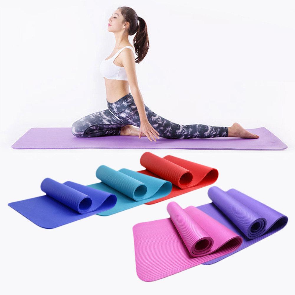 Как выбрать гимнастический коврик для фитнеса и йоги.
