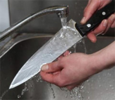 Как правильно мыть ножи