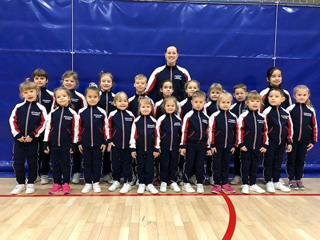 Маленькие спортсмены команды Люберцы