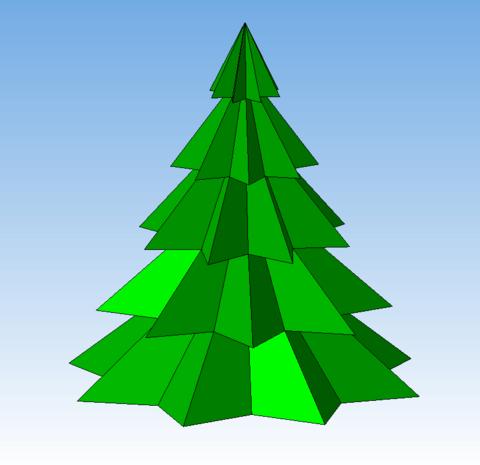 КОМПАС-3D Home для чайников. Основы 3D-проектирования. Часть 5. Новогодняя ёлка.