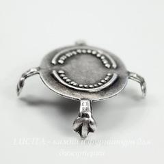 Сеттинги-черепашки для кабошонов