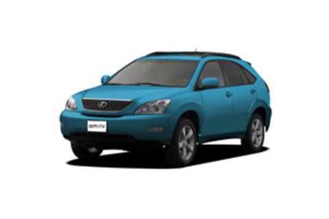 RX II 2003-2009 на рейлинги