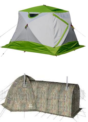 Зимняя палатка туристическая