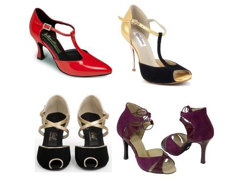Обувь для танго, латины