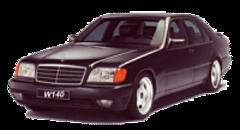 Чехлы на Mercedes S classe