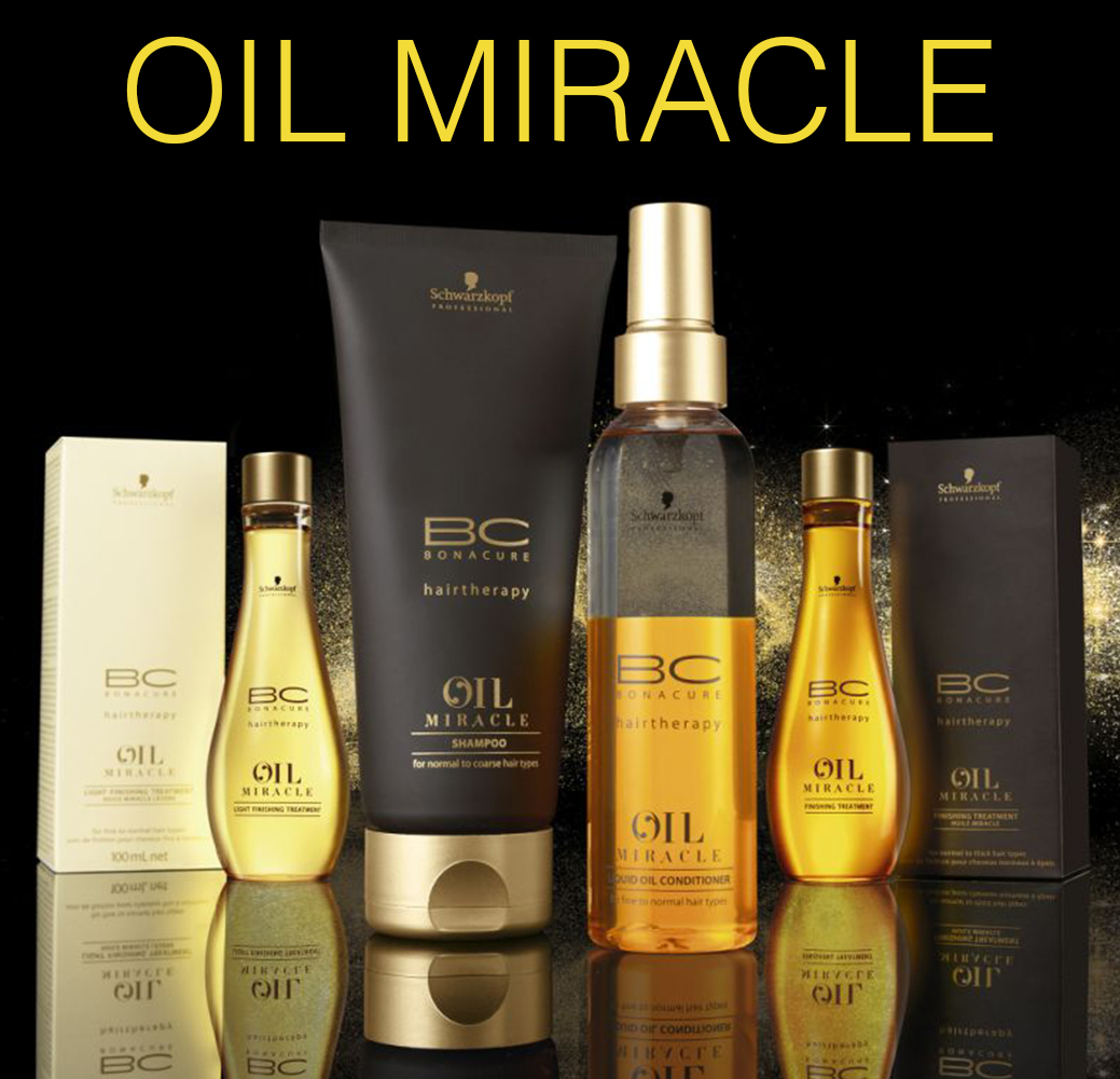 Oil Miracle - Питание и блеск волос