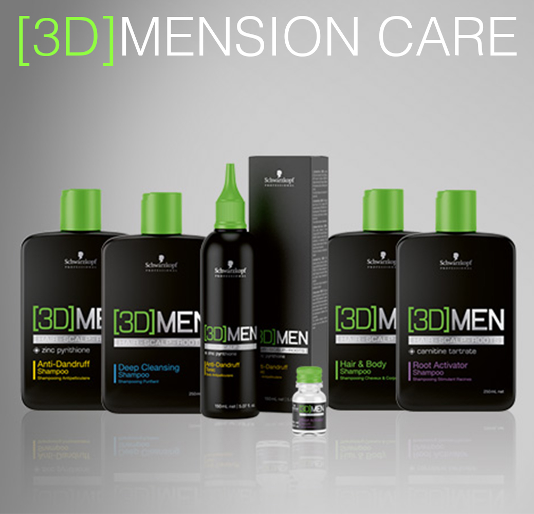 [3D]Mension Care - Уход за волосами для мужчин