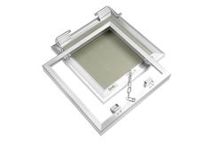 КАСКАД - съёмный потолочный люк с резиновым уплотнителем под покраску *
