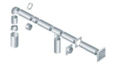 Круглое сечение (диаметр 250 мм)