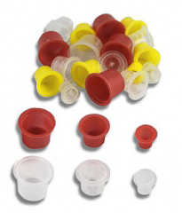 Колпачки, кольца и емкости для пигмента