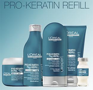 Pro-Keratin Refill - Для поврежденных волос
