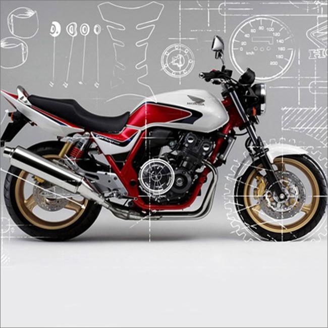 Запчасти для Honda CB 400