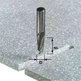 Фрезы специальные для обработки минеральных материалов