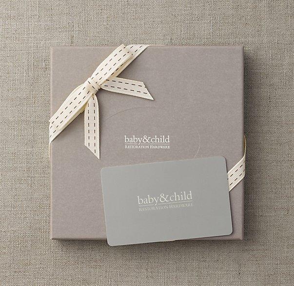 Подарки Restoration Hardware Baby & Child