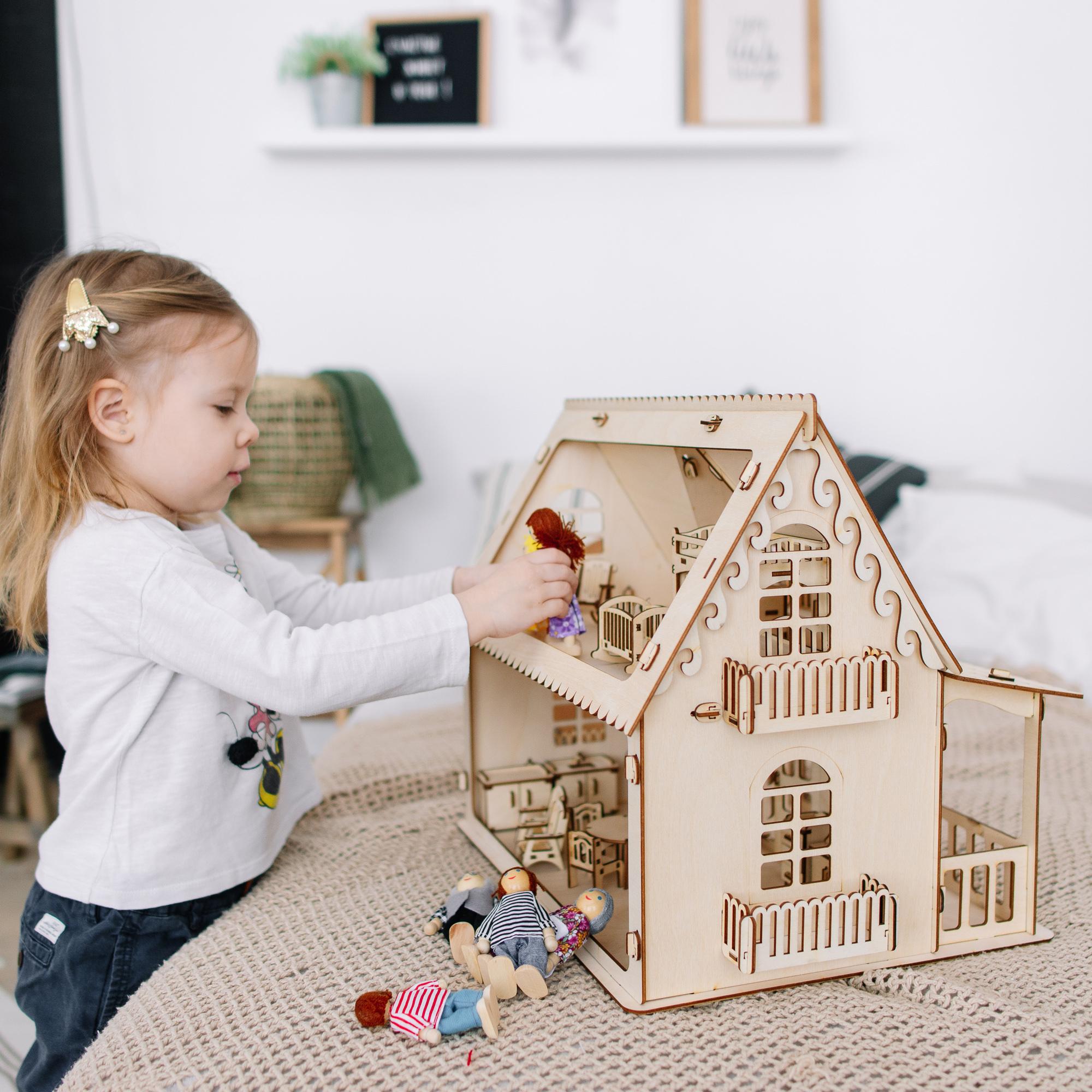 Домики для маленьких кукол