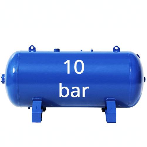 На 10 бар (1,0 МПа)