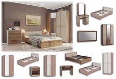 """Модули для спальни """"Фиеста"""" (Мебельсон)"""