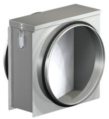 FSL - фильтры грубой очистки для круглых каналов