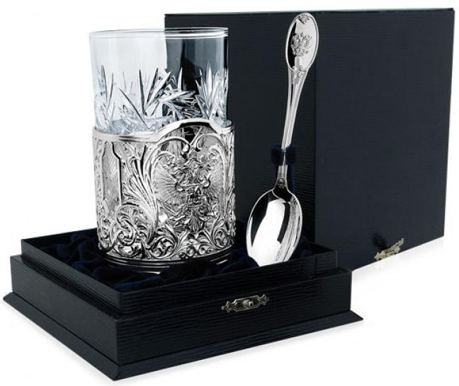 Чайные наборы из серебра