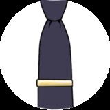 Зажимы для галстуков