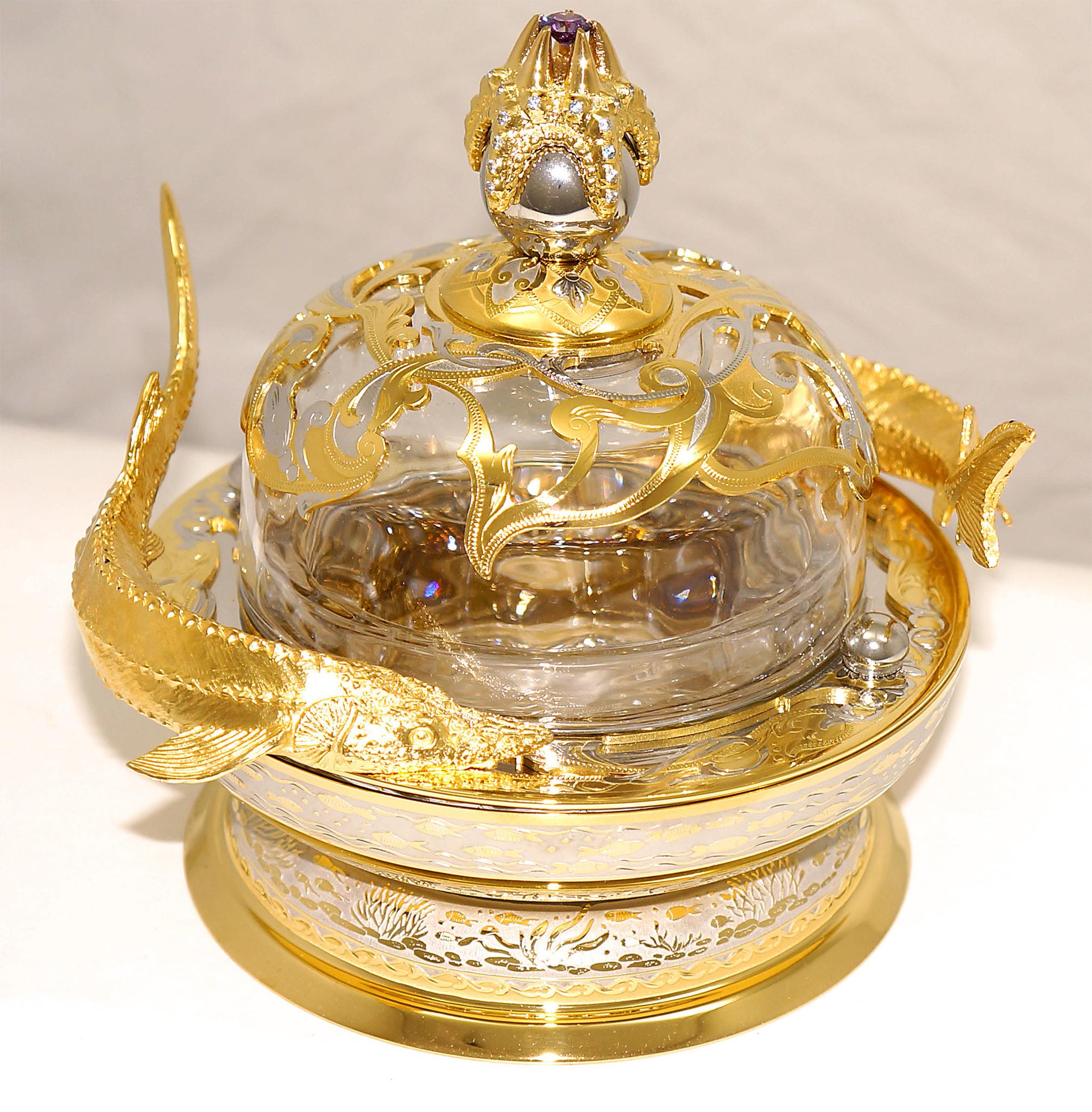Посуда из Златоуста эксклюзив
