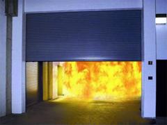Монтаж противопожарных ворот