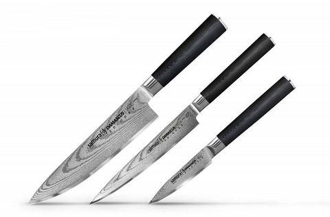 Наборы ножей из дамасской стали