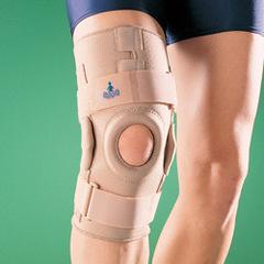Бандажи и ортезы на коленный сустав с нерегулируемыми  шарнирами