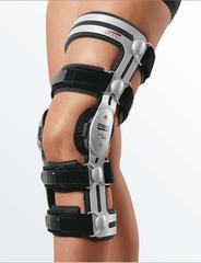 Бандажи и ортезы на коленный сустав с регулируемыми шарнирами
