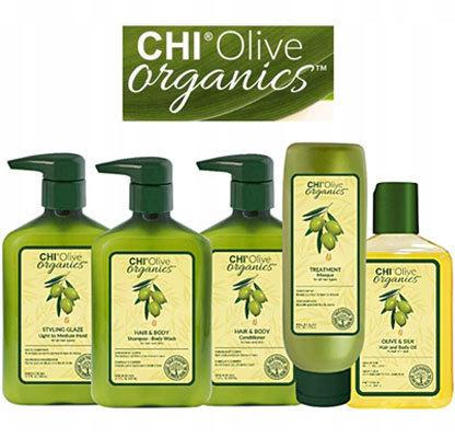 CHI Olive Organics - Органическая линия для волос и тела на основе масла оливы