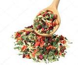 Сушеные овощи, фрукты, ягоды