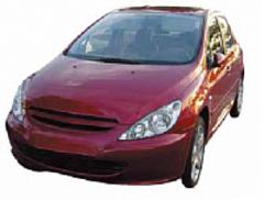 Чехлы на Peugeot 307