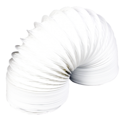 PVC синтетические воздуховоды, цвет белый