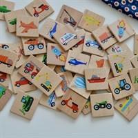 Мемори, домино, кубики