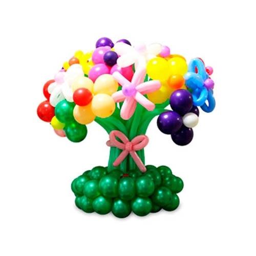 Цветы, букеты и корзины из шаров