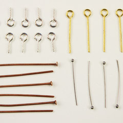 Гвоздики, штифты для бижутерии