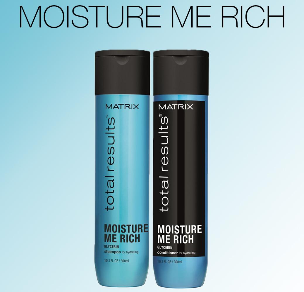 Moisture Me Rich - Увлажнение сухих волос