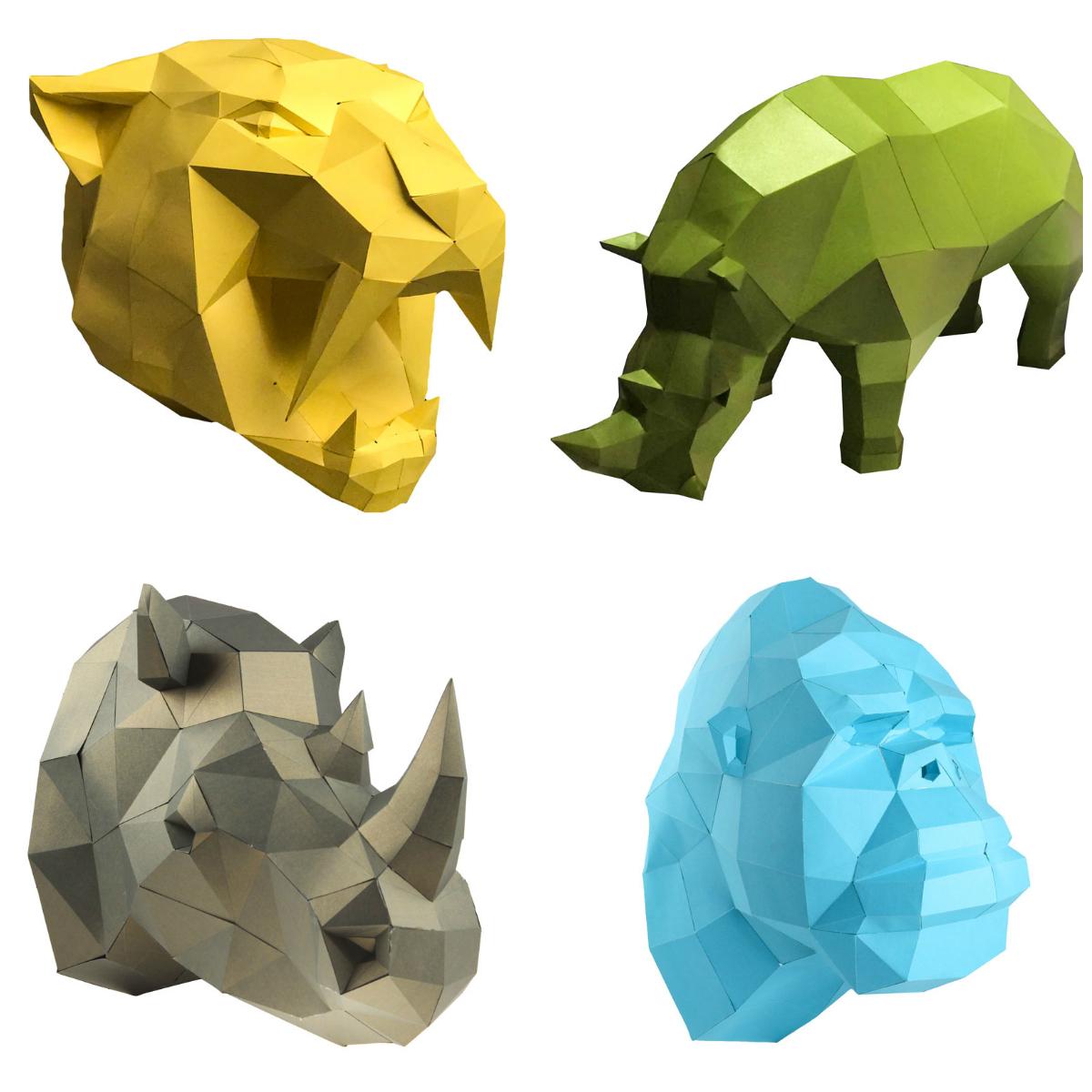 3D фігури Papercraft
