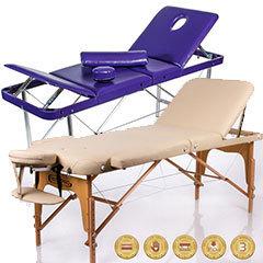 Складные массажные столы и косметологические кушетки