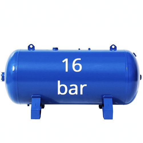 На 16 бар (1,6 МПа)