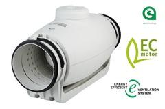 S&P TD/TD Silent Ecowatt (Испания). Канальные круглые энергосберегающие вентиляторы на ЕС моторах