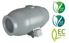 Iso-Mix EC осевой в звукопоглощающим корпусе на ЕС моторах